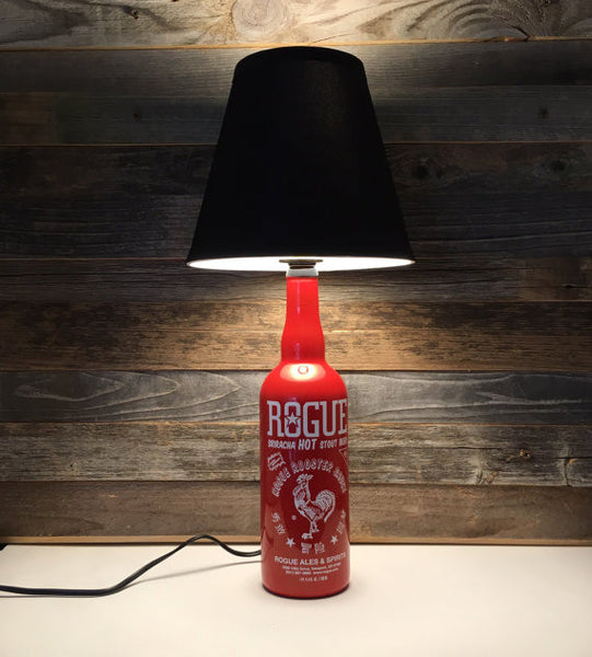 Rogue Sriracha Hot Stout Beer Bottle Lamp