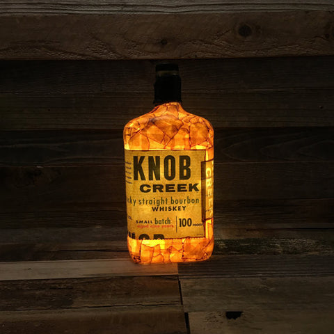 KNOB CREEK BOURBON BOTTLE LAMP