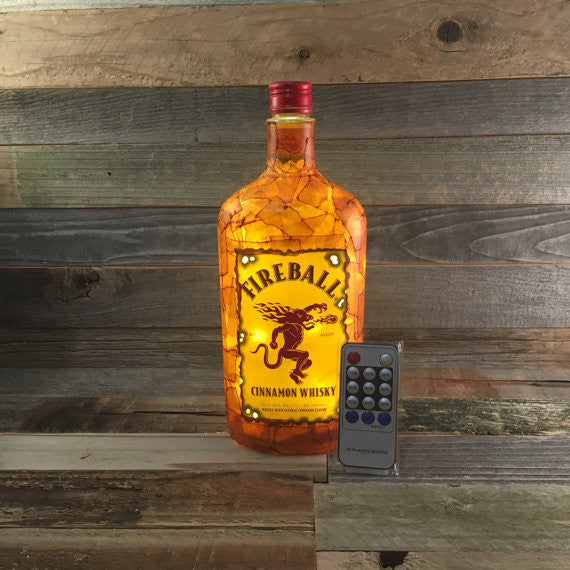 Fireball Whiskey Lamp