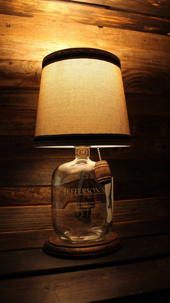 Jefferson's Small Batch Bourbon Bottle Lamp