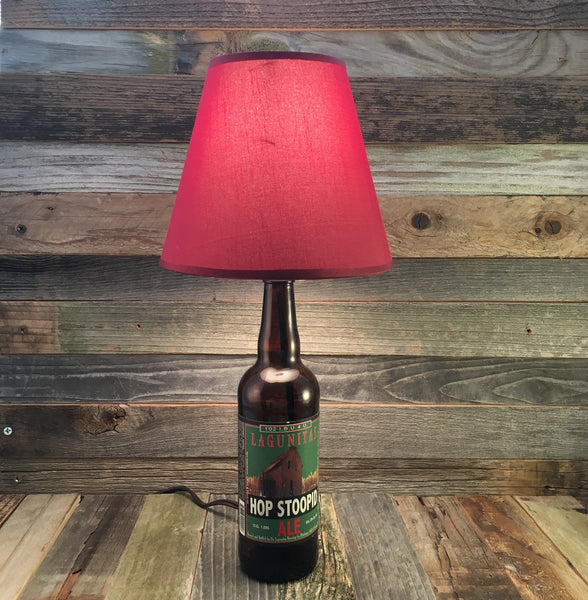 Lagunitas Hop Stoopid Ale Beer Lamp - BottleCraft By Tom