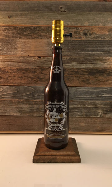 Coronado Anniversary IPA Beer Lamp - BottleCraft By Tom