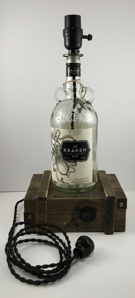 Kraken Rum Lamp - BottleCraft By Tom