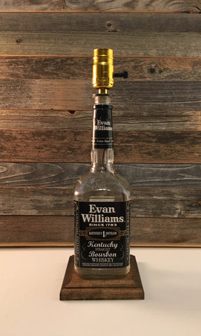 Evan Williams Bourbon Lamp