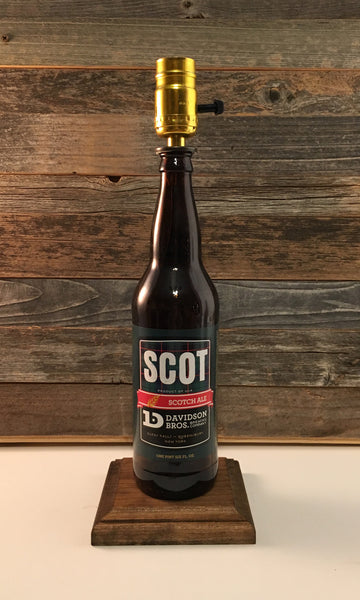 Scot Scotch Ale Lamp - BottleCraft By Tom