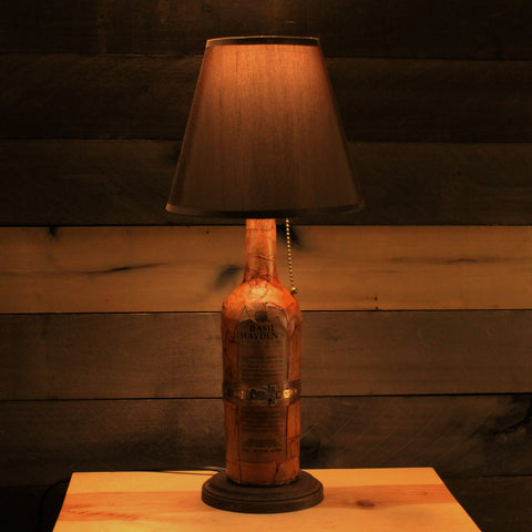 Basil Hayden Bourbon Bottle Lamp