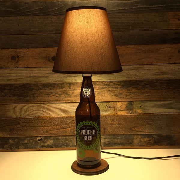 Stone Sprocket Beer Lamp