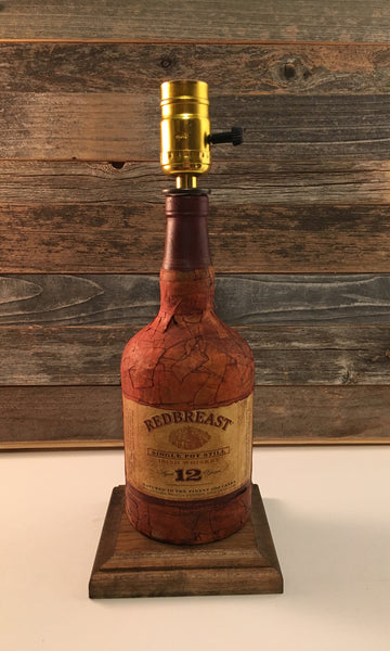 Redbreast Scotch Whiskey Lamp - BottleCraft By Tom