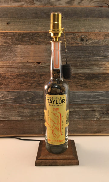 E.H. Taylor Small Batch bourbon lamp - BottleCraft By Tom