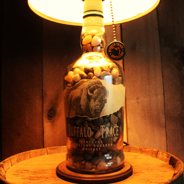 buffalo bottle craft buffalo trace bourbon lamp bottlecraft by tom 1176