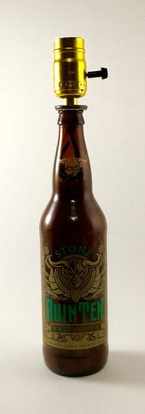 Stone RuinTen Triple IPA Lamp - BottleCraft By Tom