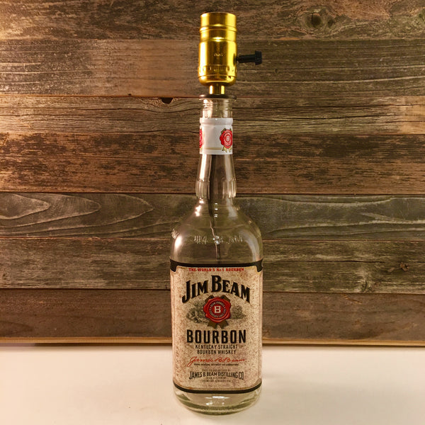 Jim Beam Bourbon Lamp - BottleCraft By Tom