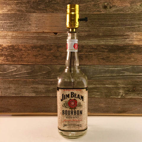 Jim Beam Bourbon Lamp