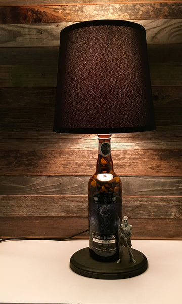 Ommegang Three Eyed Raven Beer Lamp - BottleCraft By Tom