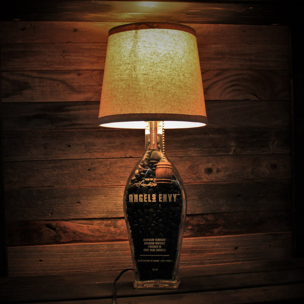 Angels Envy Bourbon Bottle Lamp