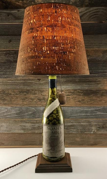 Noah's Mill Bourbon Lamp - BottleCraft By Tom