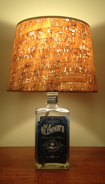 Old Blowhard Bourbon Lamp - BottleCraft By Tom