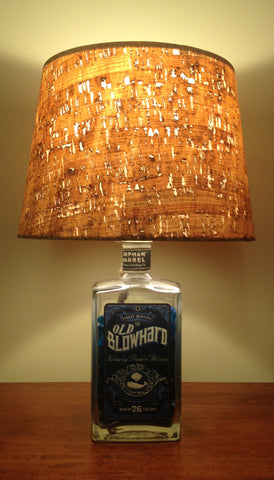 Old Blowhard Bourbon Lamp