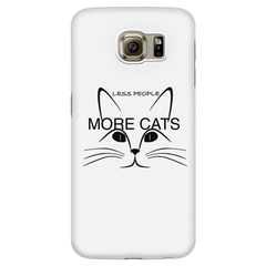 Less People More Cats-Phone Case
