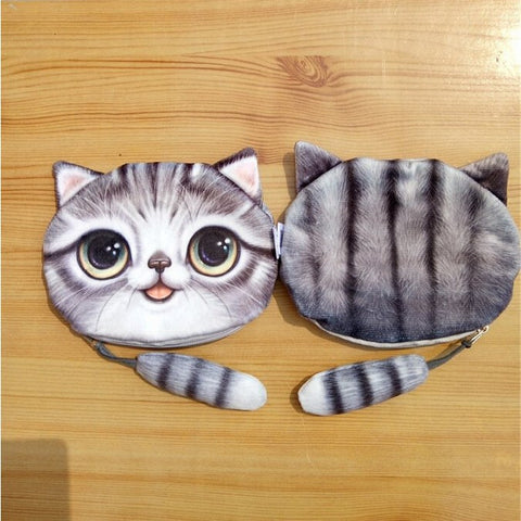 Kitty Cat Coin Purse & Makeup Bag