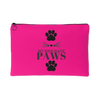 My Kids Have Paws-Pink Accessory Pouch - Just Love Cats