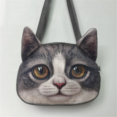 Over The Shoulder Anime Cat Purse & Messenger Bag - Just Love Cats