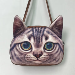 Cool Cat Over The Shoulder Purse & Messenger Bag - Just Love Cats