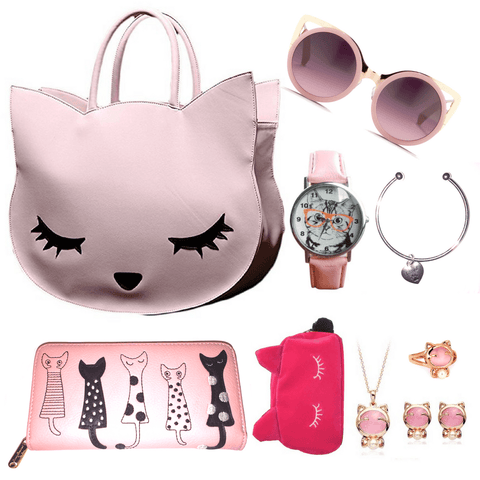 Pretty In Pink Cat Lover's Special Package