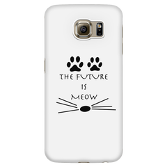 The Future Is Meow-Phone Case