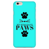 My Kids Have Paws-Teal Phone Case - Just Love Cats