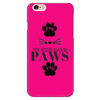 My Kids Have Paws-Hot Pink Phone Case - Just Love Cats