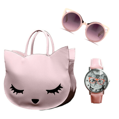Pink Cat Lover's Combo Special Package
