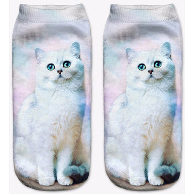 Cute Character Cat Socks - Just Love Cats