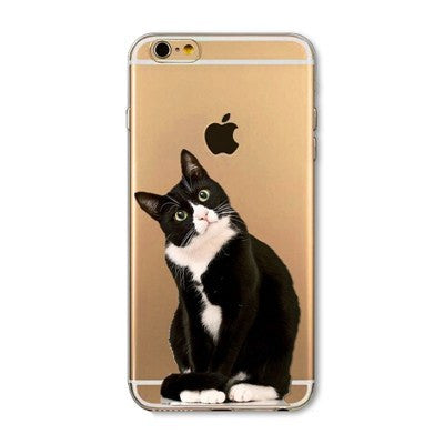 Say What Cat Soft Silicon Transparent Phone Cases For iPhones