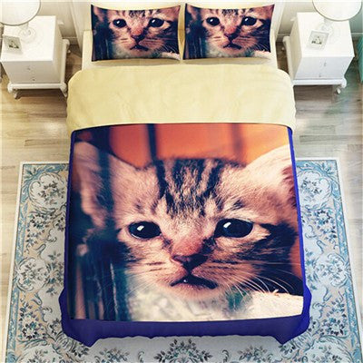Baby Kitten Duvet Bedding Set