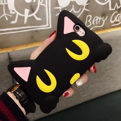 Cat Eyes Silicone Phone Cases For iPhone - Just Love Cats