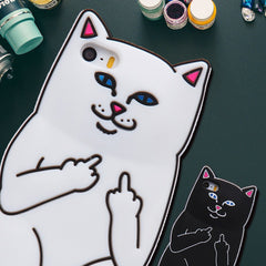 Fluff You Silicon Phone Cases For iPhones - Just Love Cats