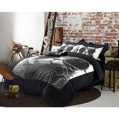 Retro Cat Duvet Bedding Set - Just Love Cats