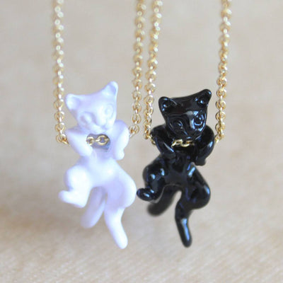Ninja Cat Necklace - Just Love Cats