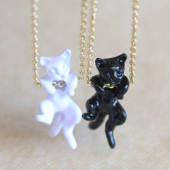 Ninja Cat Necklace