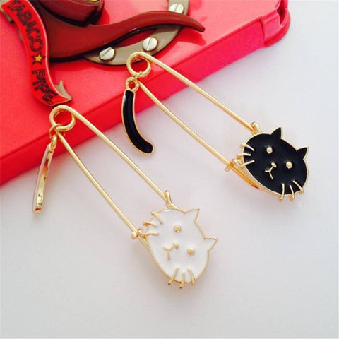 Cat Collar Pin Enamel Brooch Pin