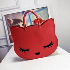 Sexy Cat Cartoon Purse Handbag - Just Love Cats
