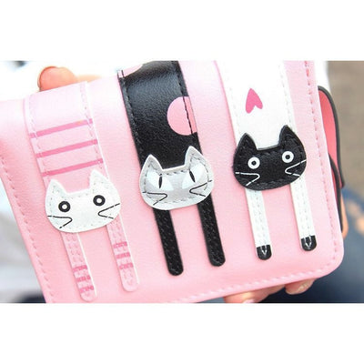 3 Little Cats Short Clutch & Wallet - Just Love Cats