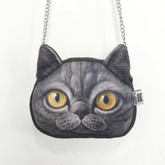 Cross Body Anime Cat Chain Handbag - Just Love Cats