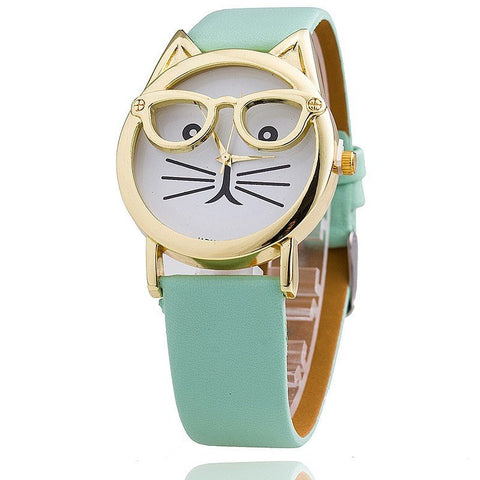 Cute Cat Wrist Watch Bracelet