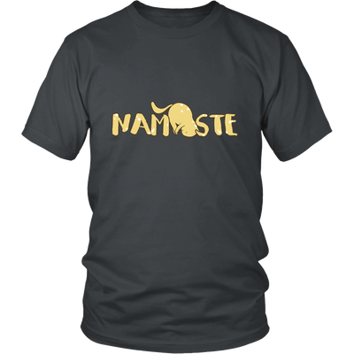 Namaste Downward Unisex Cat T-Shirt - Just Love Cats