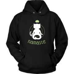 Namaste Hoodies - Just Love Cats