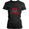 Hot Single Cat Lover T-Shirt - Just Love Cats