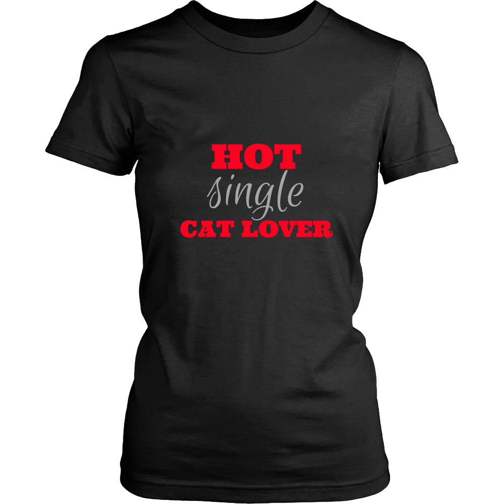 Hot Single Cat Lover T-Shirt