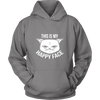 This Is My Happy Face Hoodies - Just Love Cats
